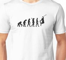Evolution freestyle skiing Unisex T-Shirt