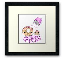 Mother daughter  Framed Print