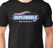 Deplorable and Proud of It Unisex T-Shirt