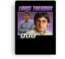 Louis Theroux 90s Tee Canvas Print