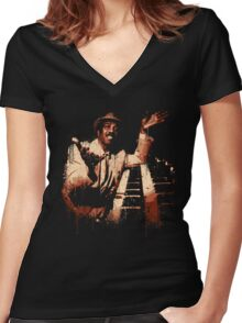 The Incredible Jimmy Smith Women's Fitted V-Neck T-Shirt