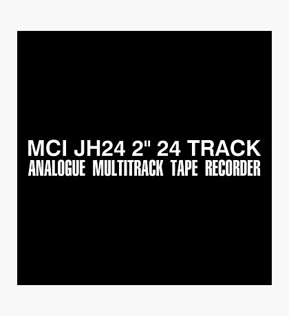 MCI JH24 multitrack Photographic Print
