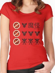 Gizmo Rules 2.0! Women's Fitted Scoop T-Shirt