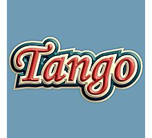Vintage colorful tango Photographic Print