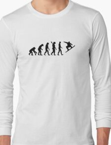 Evolution Snowboarding Snowboard Long Sleeve T-Shirt