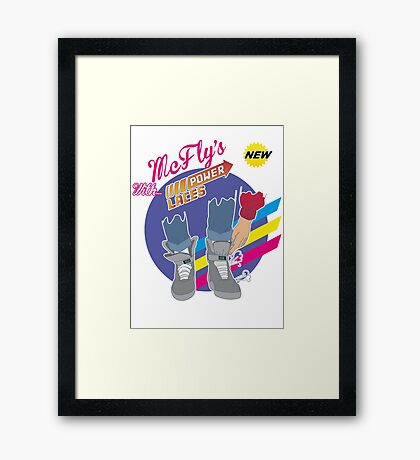 Power Laces 2.0! Framed Print