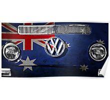 AUSSIE flag - VW Poster