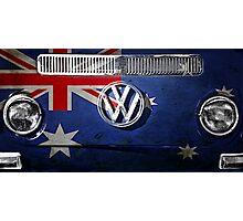 AUSSIE flag - VW Photographic Print