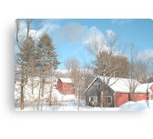 Snowy Winter Day Canvas Print