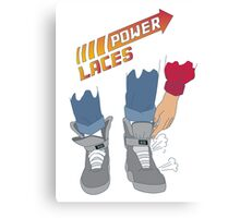 Power Laces! Canvas Print