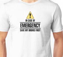 Save my drums (black) Unisex T-Shirt