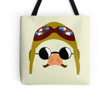 Porco Rosso - Marco Pagot face by AronGilli Tote Bag