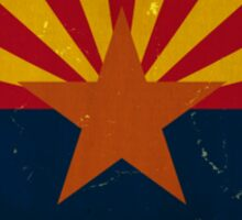 Arizona State Flag VINTAGE Sticker