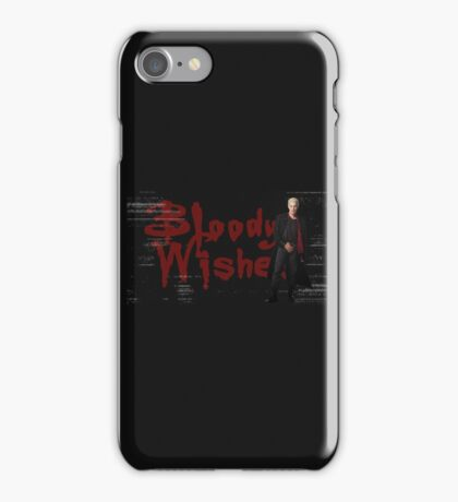 Spike -  Bloody Halloween Wishes iPhone Case/Skin