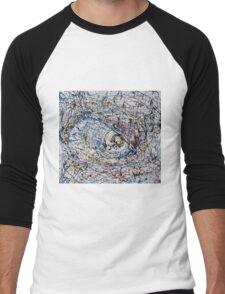 One of Pollock's eye Men's Baseball ¾ T-Shirt