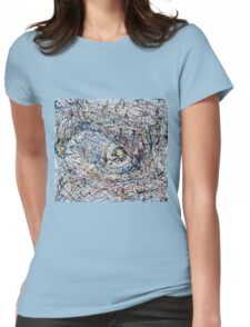 One of Pollock's eye Womens Fitted T-Shirt