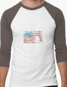 I Stand For The National Anthem Men's Baseball ¾ T-Shirt