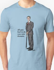 Mycroft Remain Unisex T-Shirt