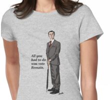 Mycroft Remain Womens Fitted T-Shirt