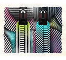 Stripes Are Us 2 Photographic Print