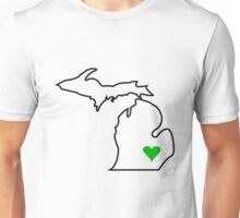 Michigan Love - Green  Unisex T-Shirt