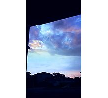 The Sky at Dawn Photographic Print