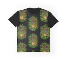 Twin Souls Mandala Graphic T-Shirt