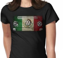 MEXICO flag - VW Womens Fitted T-Shirt