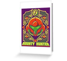 Bounty hunter Greeting Card