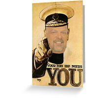 Rick Harrison needs YOU! Greeting Card