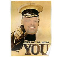 Rick Harrison needs YOU! Poster