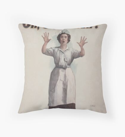 Performing Arts Posters Charles Frohmans new comedy Oh Susannah 0845 Throw Pillow