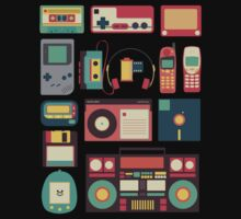 Retro Technology Kids Tee
