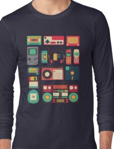 Retro Technology Long Sleeve T-Shirt