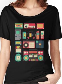 Retro Technology Women's Relaxed Fit T-Shirt
