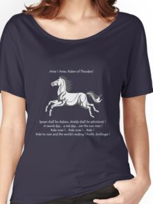 Ride Rohirrim ! Women's Relaxed Fit T-Shirt