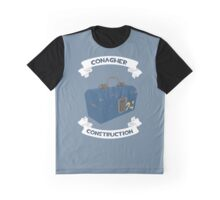 Conagher Construction (BLU) Graphic T-Shirt