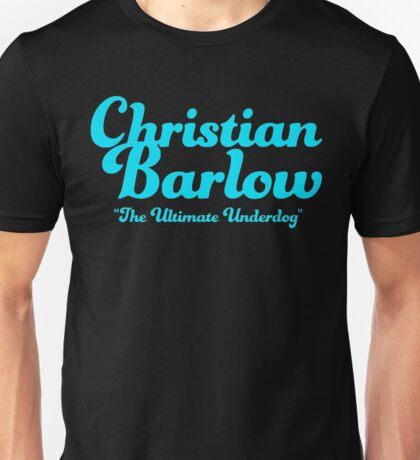 "Christian Barlow ""Ultimate Underdog"" Unisex T-Shirt"