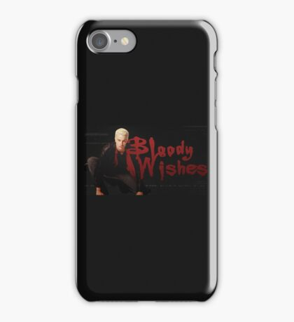 Bloody Wishes from Spike the Vampire - Halloween iPhone Case/Skin