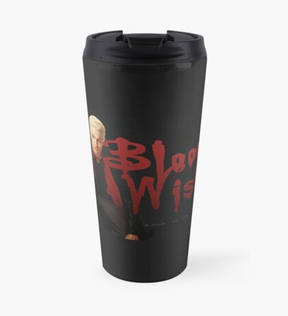 Bloody Wishes from Spike the Vampire - Halloween Travel Mug