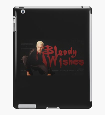 Bloody Wishes from Spike the Vampire - Halloween iPad Case/Skin