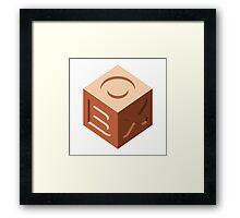 Box Framed Print