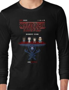 16-bit Stranger Things Long Sleeve T-Shirt
