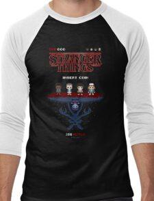 16-bit Stranger Things Men's Baseball ¾ T-Shirt