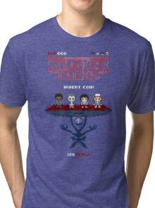 16-bit Stranger Things Tri-blend T-Shirt