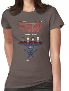 16-bit Stranger Things Womens Fitted T-Shirt