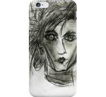 Edward Dark Fantasy Movie Art Drawing  iPhone Case/Skin