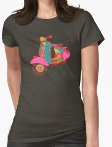 Motoneta Womens Fitted T-Shirt