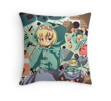 Creeper Party Throw Pillow
