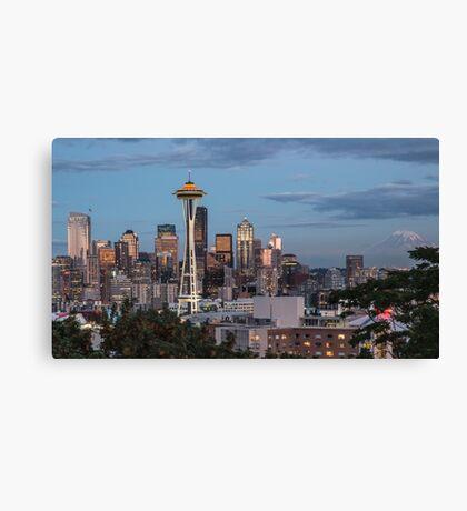 Seattle, Washington Canvas Print